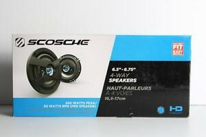 Haut-Parleurs pour auto SCOSCHE (A043605)