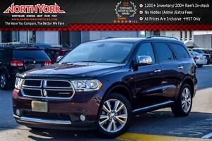 2012 Dodge Durango Crew Plus|4WD|Rear-DVD|Sunroof|Nav|Drvr Mem|1