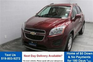 2013 Chevrolet Trax LT AWD w/ PARTIAL LEATHER! REVERSE CAMERA! A