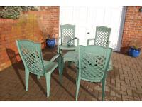 Garden Furniture Set - 5 Piece
