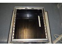 """Mixer Rack Flightcase 19"""" x 12 Unit"""