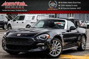 2017 Fiat 124 Spider Lusso|Manual|Leather|Nav|BlindSpot|HTD Seat