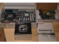 AMD Phenom x4 965 3.4GHZ , GA Motherboard 8 GB Ram +wi-fi card