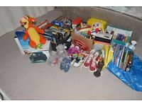 Huge Job Lot Car Boot Resale Items Toys, PC Games, Board Games, Trainers, Books, Homeware