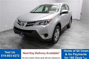 2015 Toyota RAV4 LE AWD w/ POWER PACKAGE! CRUISE CONTROL! KEYLES