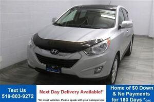 2013 Hyundai Tucson AWD LIMITED w/ LEATHER! NAVIGATION! SUNROOF!