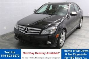 2009 Mercedes-Benz C-Class 4MATIC w/ LEATHER! SUNROOF! HEATED SE