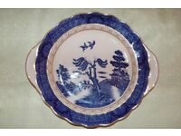 Royal Doulton 'Booth's Real Old Willow' Bread/Cake Plate in Excellent Condition