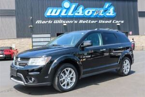 2017 Dodge Journey GT AWD! 7 PASS! LEATHER! HEATED STEERING+SEAT