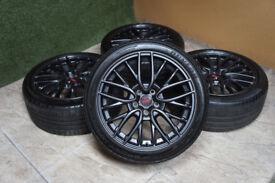 """Genuine Subaru Impreza WRX STI 18"""" Alloy wheels 5x114.3 Enkei WRX STI GDA GDB GRB Alloys"""