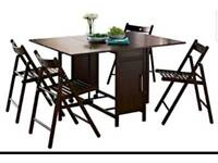 Brand new butterfly table and chairs