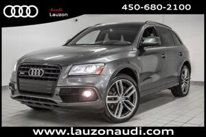 2016 Audi SQ5 TECHNIK B&O NAVIGATION BLACK OPTICS INT LUNAR