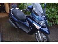 Piaggio Xevo Scooter in very good condition, one previous owner, full service history