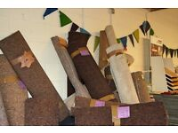 Selection of carpet off cuts. VERY CHEAP!