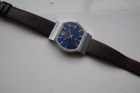 Podeba 'Victory' Russian manual wind mechanical wristwatch - Cal 2602 - Blue dial