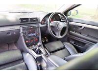"Audi A4 1.8T Quattro 190bph S-Line* SatNav* Leather* Full Service* Bose* Xenon 17"" wheels S4 Bargain"