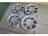 "Genuine Honda Civic Type R 17"" Alloy wheels 5x114.3 EP3 Alloys S2000 Accord EP2"