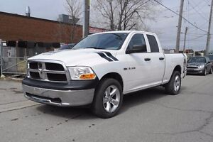 2010 Dodge Ram 1500 Quad Cab.6 Passenger.No Accident History.War