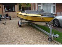boat/15ft speedboat &trailer project