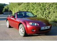 Mazda MX-5 2.0l Sport 160bhp Full Leather, BOSE audio, new MOT, recent new tyres and brakes