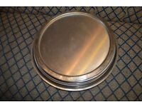 Dishes, Trays, Stainless Steel