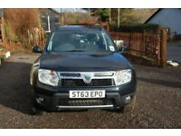 Dacia Duster 1.5 DCI Laureate. Rare 4x4 2014, 35.5k Midnight Blue Metallic. New MOT , Newly serviced