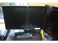 Logik LED 22 ins HD & Remote, With Freeview & CD/DVD Combo.L22FED12