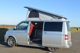 VW T5 Camper Van Silver in excellent condition 2.8Tdi 130BHP