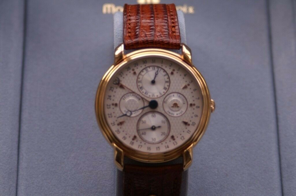 Maurice lacroix Auto Regulateur Calendar mechanical wristwatch - Swiss - Circa '97 - GP Complication