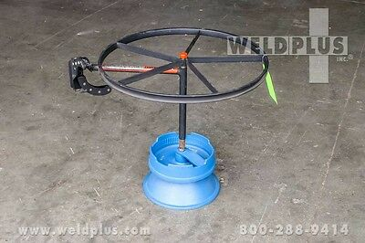 Weldmatic Wd10 Wooden Reel Wire Dispenser
