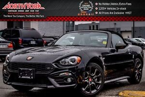 2017 Fiat 124 Spider New Car Abarth Leather Backup Cam HTD Seats