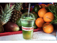 Juice Bar Assistant required Full time and Part time at Funky Juice