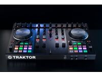 Native Instruments Traktor Kontrol S4 MKII DJ Controller only used twice still in box with plastic