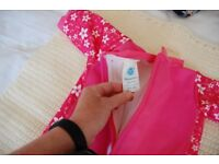 Baby Girls Neoprene Wet Swim Suit 3-6 months