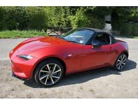 MX-5 Limited Edition Recaro Softtop Soul Red Mazda 2016 low mileage excellent condition
