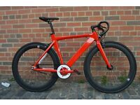 Aluminium 2016 NOLOGO Brand new single speed fixed gear fixie bike/ road bike/ bicycles 1f