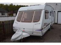 Swift Charisma 540 (2004) 5 Berth Touring Caravan