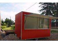 Catering trailer, Business trailer, Street Food Van, Mobile Kitchen