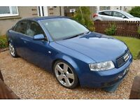 A4 B6 3.0 PETROL BLUE LZ5W BREAKING FOR SPARES