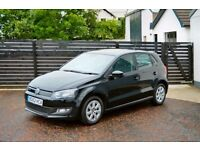 2013 POLO 1.2TDI FREE TAX BLUEMOTION FSH LOW RATE FINANCE ONLY £154 PER MONTH NOT GOLF CLIO FIESTA