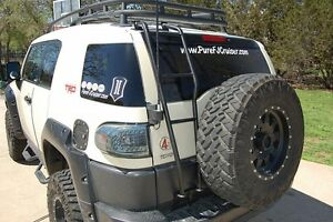FJ CRUISER REAR LADDER Docklands Melbourne City Preview