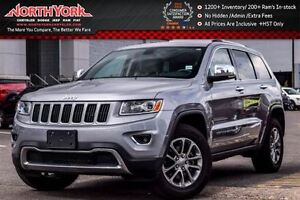 2015 Jeep Grand Cherokee Limited 4x4|Leather|Nav|R.Start|HTD Sea