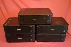 5 x Canon MG4250 Inkjet Printers