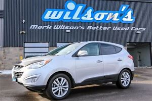 2013 Hyundai Tucson LIMITED! AWD! LEATHER! NAVIGATION! PANO SUNR