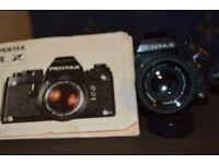 Pentax LX 35mm SLR Film Camera With a Smc Pentax-M Lens f1.7 50mm