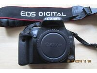 Canon 450D DSLR Camera. Body Only.