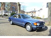 1990 Mercedes W126 SEC 500 - Beautiful Colour Combination-Special Specification