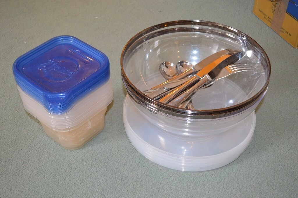 Plastic Ziploc tubs and plastic bowls with lidsin Melrose, Scottish BordersGumtree - Used but in re usable condition Stack of Ziploc plastic tubs with lids 3 plastic bowls with lids