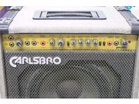 Carlsboro Rebel 60 watt Guitar Amp 2 Channel Foot Switch + EQ - LOUD :-0 with Celestion G12 Speaker