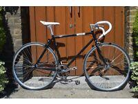 Brand new single speed fixed gear fixie bike/ road bike/ bicycles + 1year warranty & free service ow